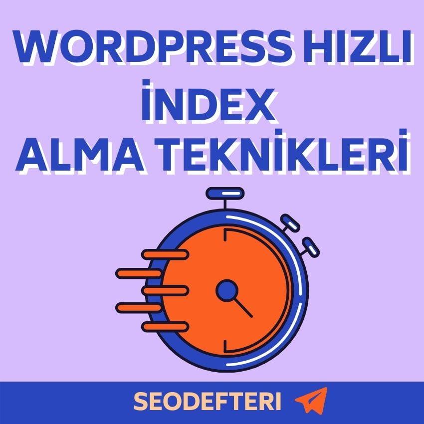 wordpress-hizli-index-alma-yöntemleri