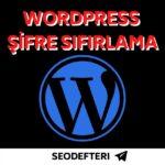 wordpress-sifre-sifirlama