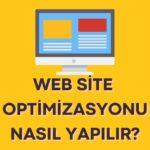 web-site-optimizasyonu-nasil-yapilir