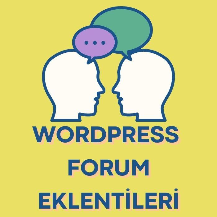 wordpress-forum-eklentileri